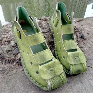 Shoes - Summer Soft Bottom Flat Genuine Leather Women Shoe